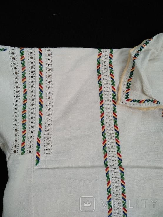 2. Буковинська сорочка вишиванка стародавня, фото №4