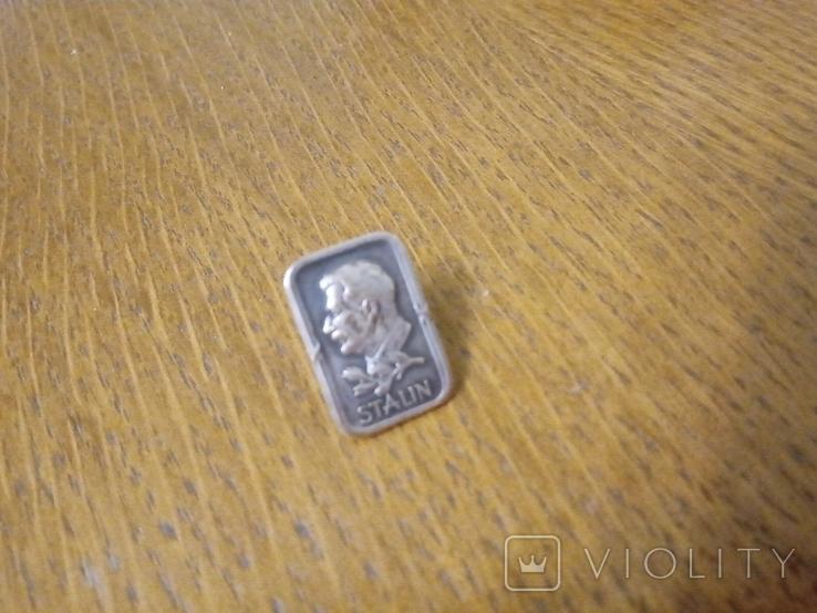 Значок Сталин, фото №7
