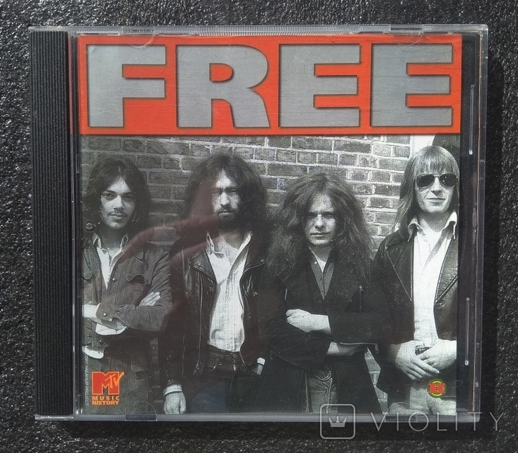 Free (рок-гурт). CD виробництва Німеччини, фото №2