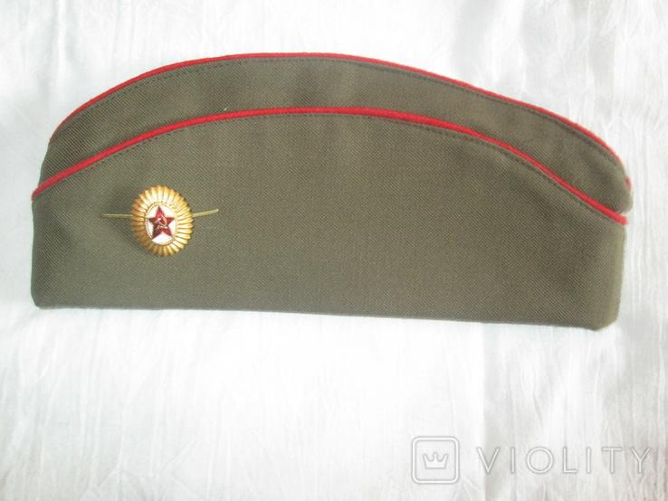 Пилотка офицерская розмер 58., фото №2