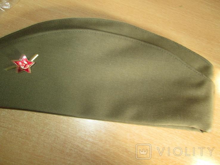 Пилотка солдатская розмер 58., фото №2