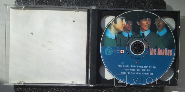 Подвійний CD-альбом. Бітлз / The Beatles / Битлз. Зіркова серія МР3, фото №3