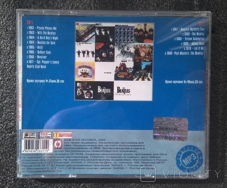 Подвійний CD-альбом. Бітлз / The Beatles / Битлз. Зіркова серія МР3, фото №5