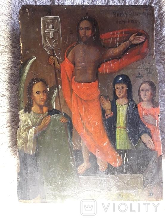 """Икона """" Воскресение Христово"""", фото №3"""