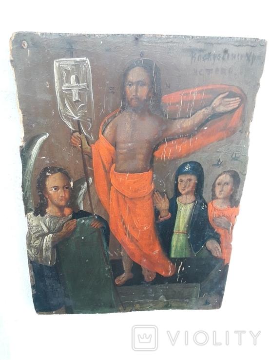 """Икона """" Воскресение Христово"""", фото №5"""