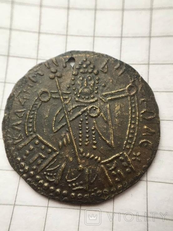Сребреник 3тип Владимир 980-1015г. копия, фото №2