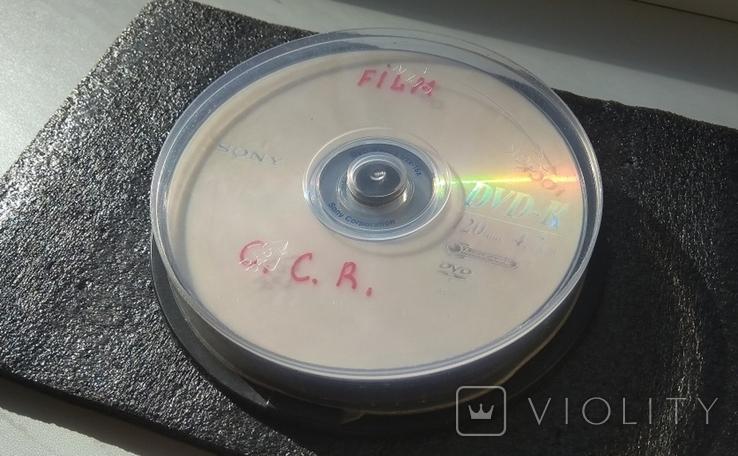 """""""ВОХ"""" №4. """"Різне"""". Рок-гурти та виконавці. 10 DVD-дисків. Від """"Creedens"""" до """"Deep Purple"""", фото №2"""