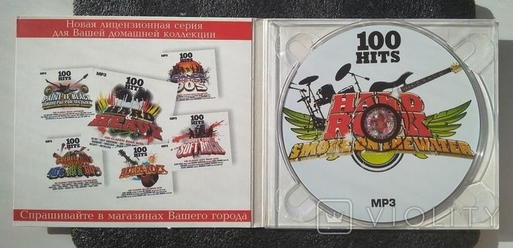 """Кращі класичні хард-рок-хіти. Серія """"100 HITS"""". CD Smoke on the Water, фото №3"""
