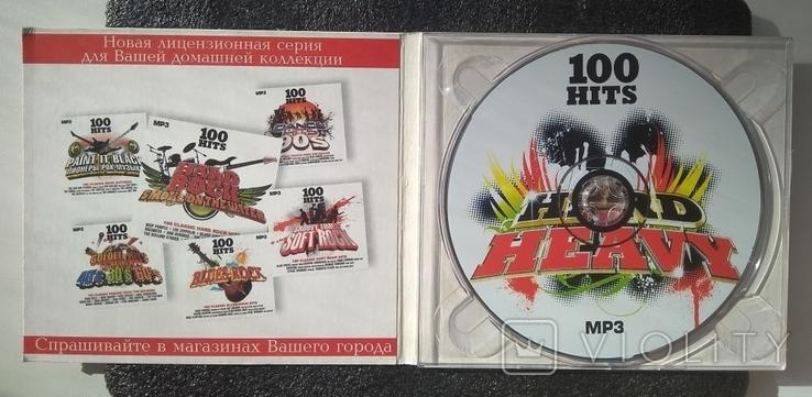 """Кращі класичні рок-хіти. Серія """"100 HITS"""". CD Hard - Heavy, фото №3"""
