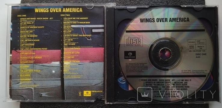Крила над Америкою / Wings over America. Подвійний CD-альбом. EMI-Records., фото №3