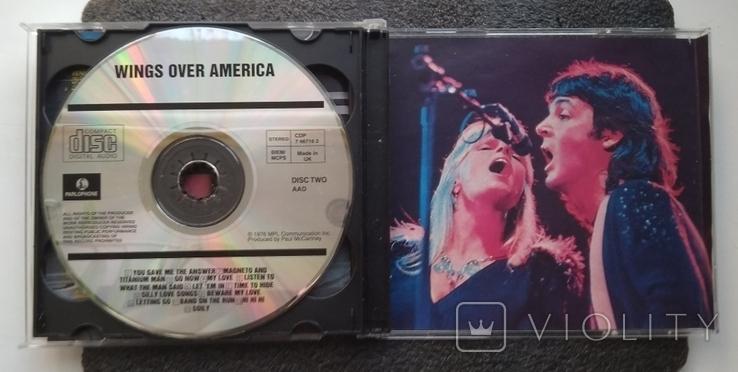 Крила над Америкою / Wings over America. Подвійний CD-альбом. EMI-Records., фото №4