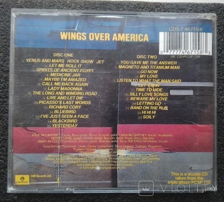 Крила над Америкою / Wings over America. Подвійний CD-альбом. EMI-Records., фото №5