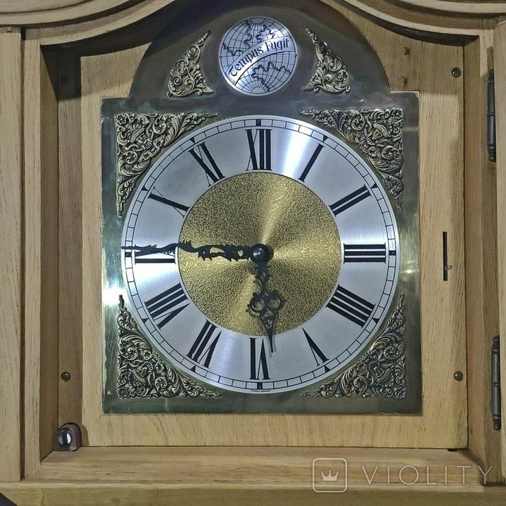 Часы напольные четвертные Германия, фото №6