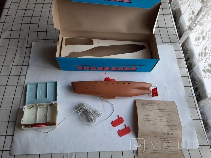 Ігрушка ссср Подводна Лодка нова, фото №2