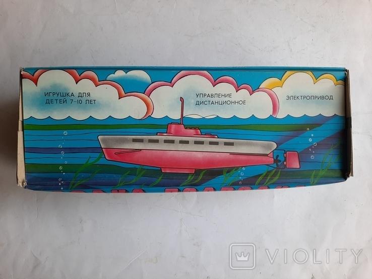 Ігрушка ссср Подводна Лодка нова, фото №9