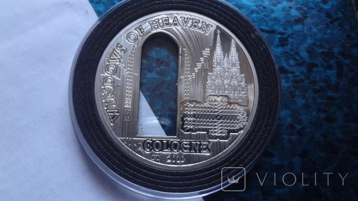 10 долларов 2010 о-ва Кука Окно серебро, фото №2