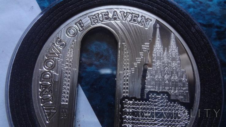 10 долларов 2010 о-ва Кука Окно серебро, фото №5