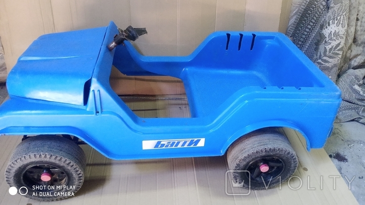 Педальная машинка багги, фото №2