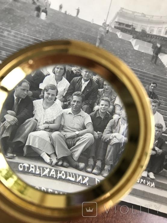 1939 Одесса Дом отдыха Экскурсия Потёмкинская лестница, фото №7