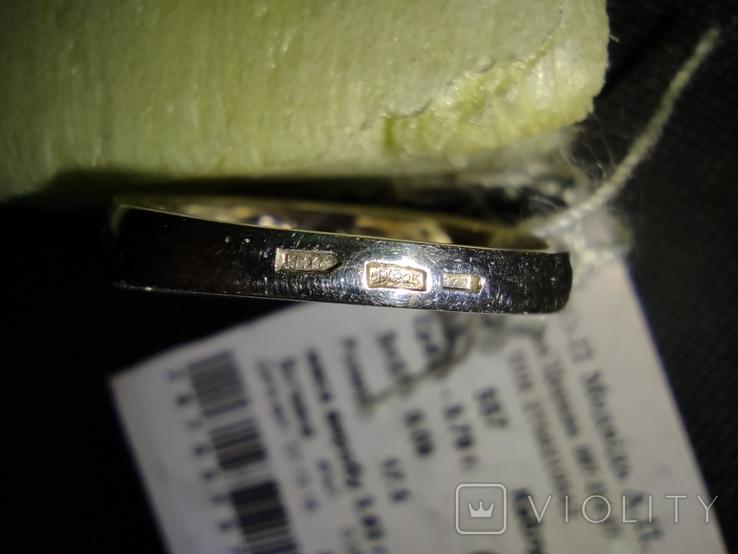 Гарнитур кольцо и серьги, фото №6