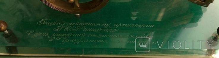 Пушка подариная генерал-лейтинанту (начальнику военного училища), фото №4