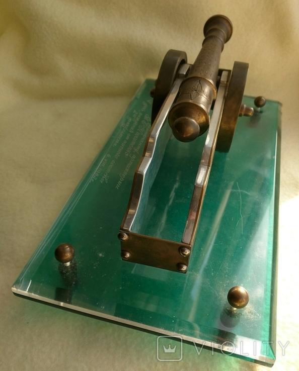 Пушка подариная генерал-лейтинанту (начальнику военного училища), фото №8
