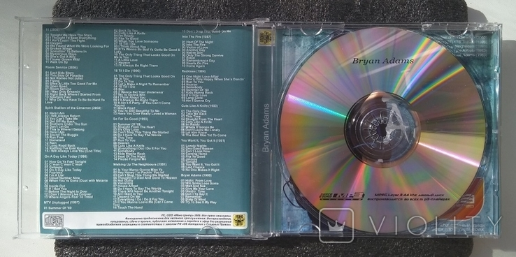 Брайан Адамс / Bryan Adams - CD, фото №3