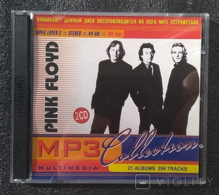 Pink Floyd / Пінк Флойд. Подвійний CD-альбом. Колекція МР3., фото №2