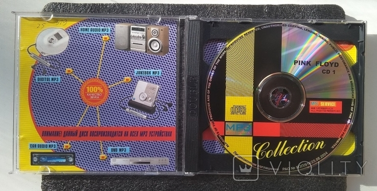 Pink Floyd / Пінк Флойд. Подвійний CD-альбом. Колекція МР3., фото №3