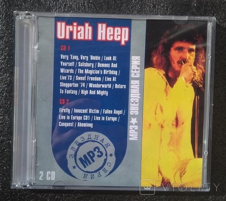"""Uriah Heep / Юрайя хіп. Подвійний CD-альбом. """"Зіркова серія. МР3"""", фото №2"""