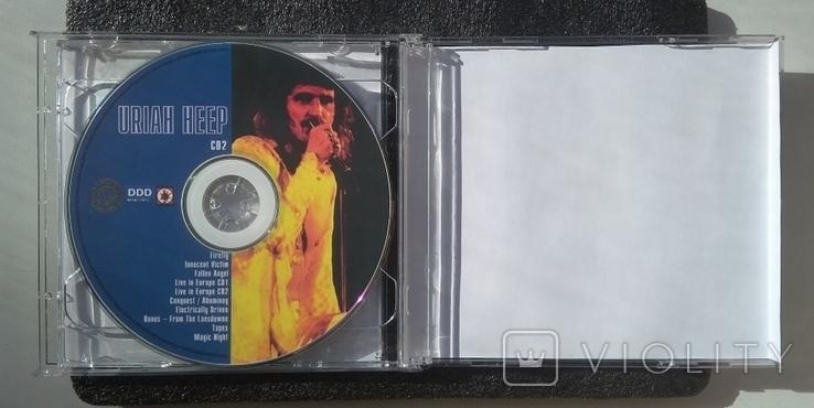 """Uriah Heep / Юрайя хіп. Подвійний CD-альбом. """"Зіркова серія. МР3"""", фото №4"""