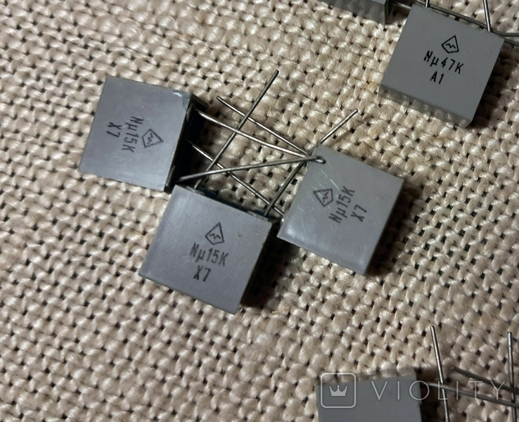 Набор конденсаторов 12 шт, фото №4