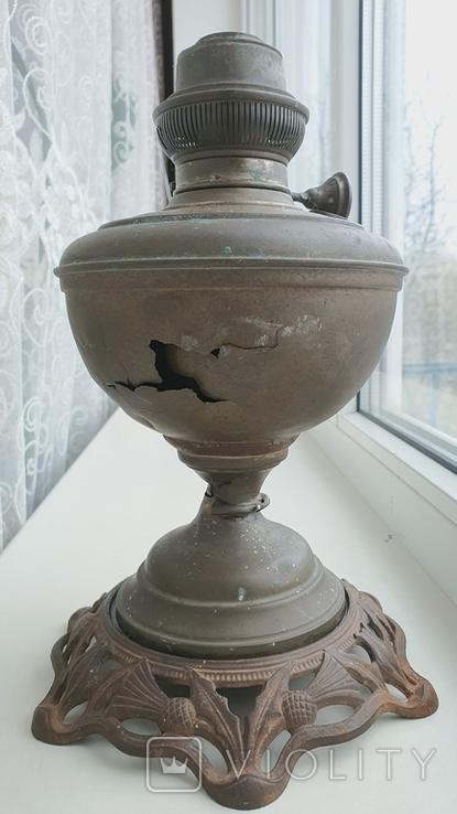 Лампа Чудо, Берлин, патент.Керосиновая под реставрацию., фото №7