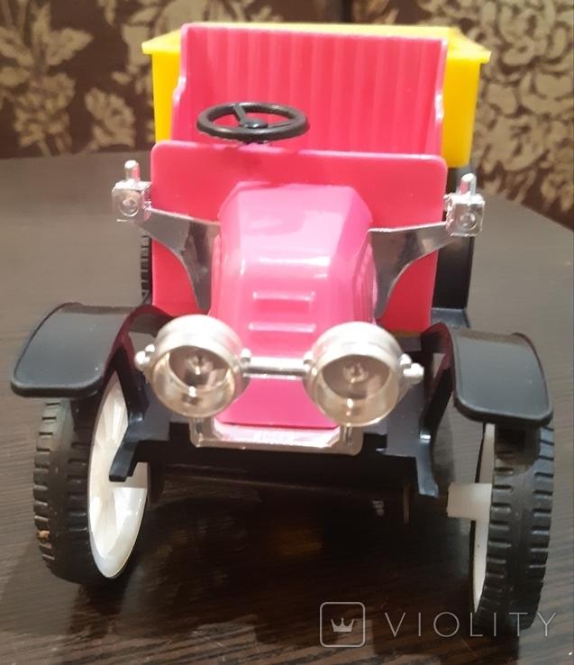 Игрушка Грузовой автомобиль 70г. 5-ь машинок одним лотом, фото №3