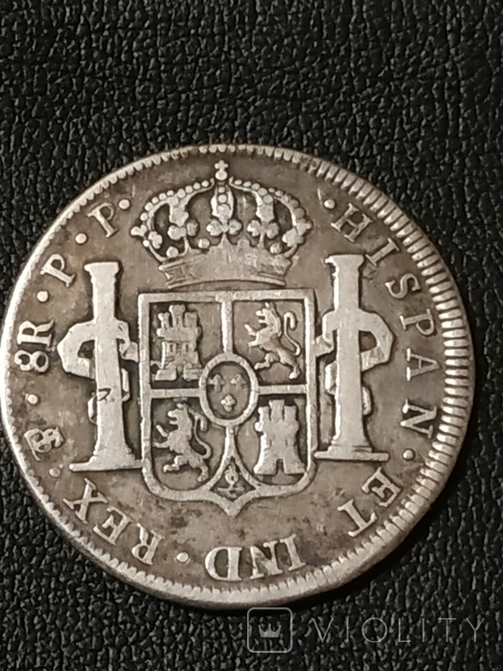 8 реалов Боливия 1801 г., фото №7