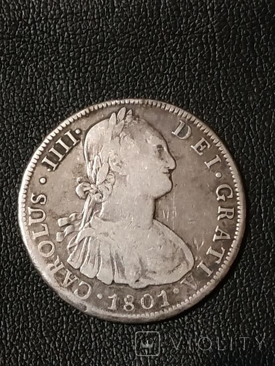 8 реалов Боливия 1801 г., фото №8
