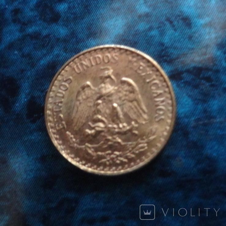 2 песос 1945 Мексика золото (10.7.1), фото №6