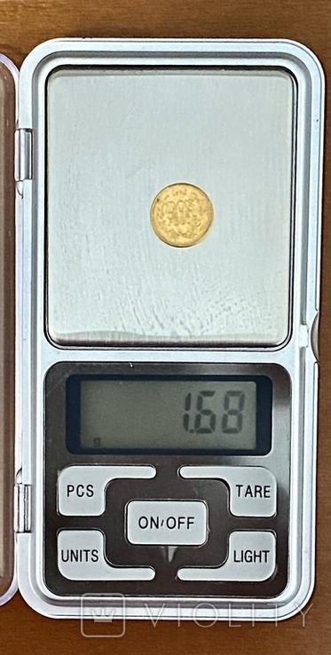 2 песо. 1945. Мексика (золото 900, вес 1,68 г), фото №13