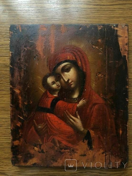 Икона Богоматерь Владимирская, фото №2