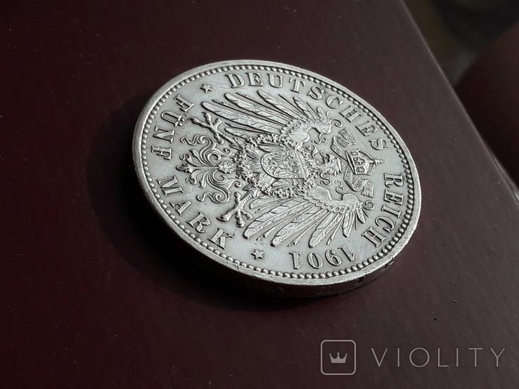5 марок 1901 года 200 лет династии, фото №10
