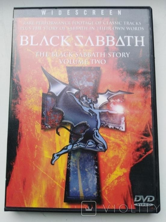 Тhe Black Sabbath Story (Volume Two,1991) 1DVD, фото №2