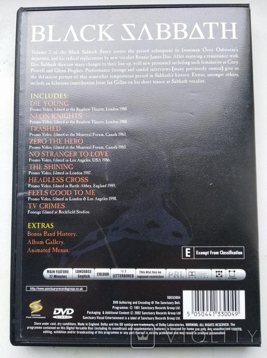 Тhe Black Sabbath Story (Volume Two,1991) 1DVD, фото №3