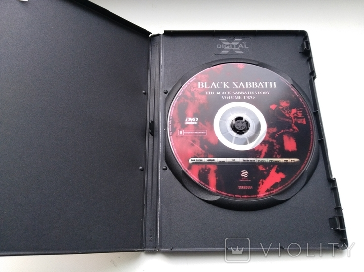 Тhe Black Sabbath Story (Volume Two,1991) 1DVD, фото №4