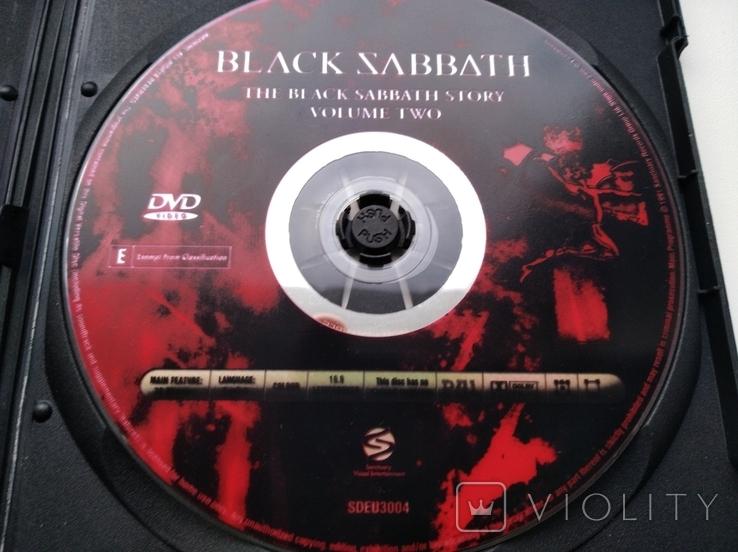 Тhe Black Sabbath Story (Volume Two,1991) 1DVD, фото №5