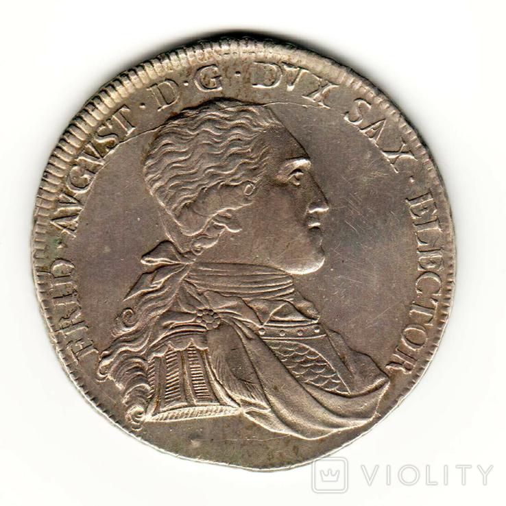 Талер 1803 р. , Саксонія, фото №2