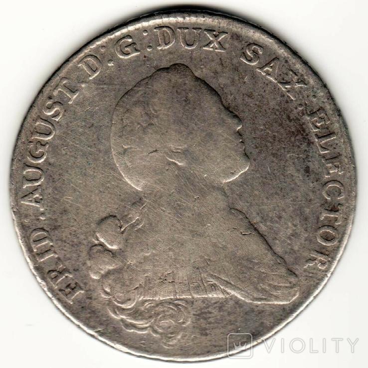 Талер 1767 р, Саксонія, фото №2