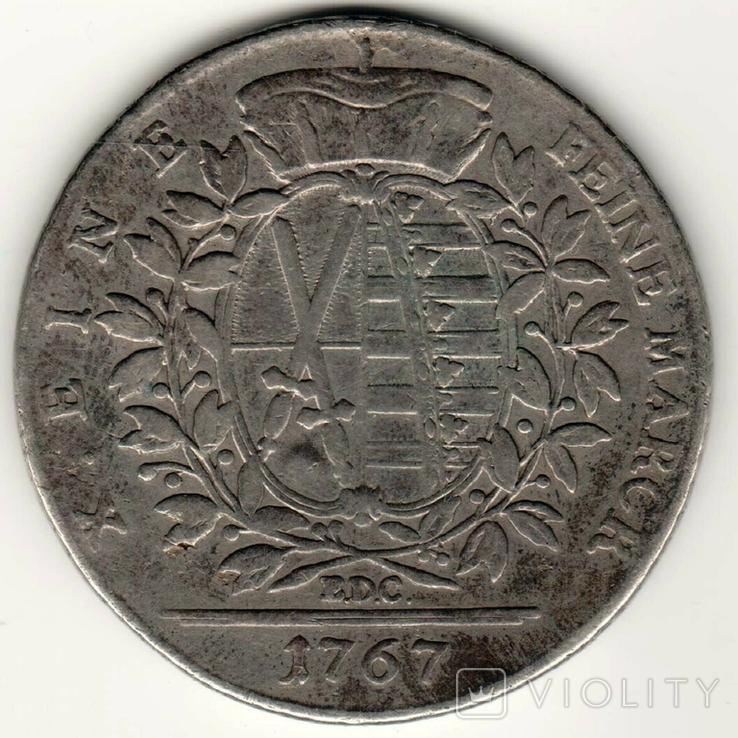 Талер 1767 р, Саксонія, фото №3