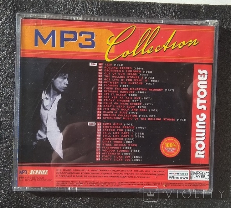 Rolling Stones / Роллінг Стоунз. Подвійний CD-альбом. Колекція МР3., фото №5