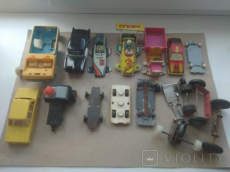 Машинки на восстановление + запчасти., фото №8