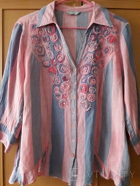 Женская вышитая рубаха Peruna. Индия. Ручная работа, фото №2